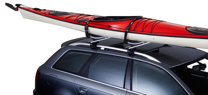 багажник в виде лодки на крышу автомобиля