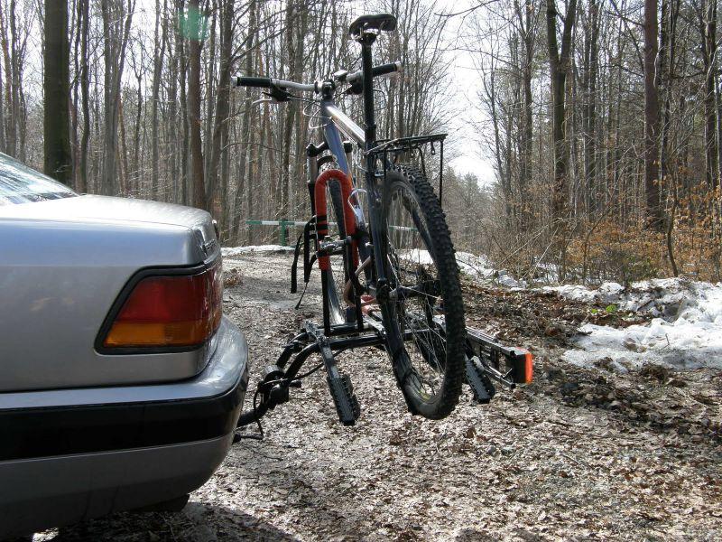 Крепления для перевозки велосипедов на фаркоп своими руками