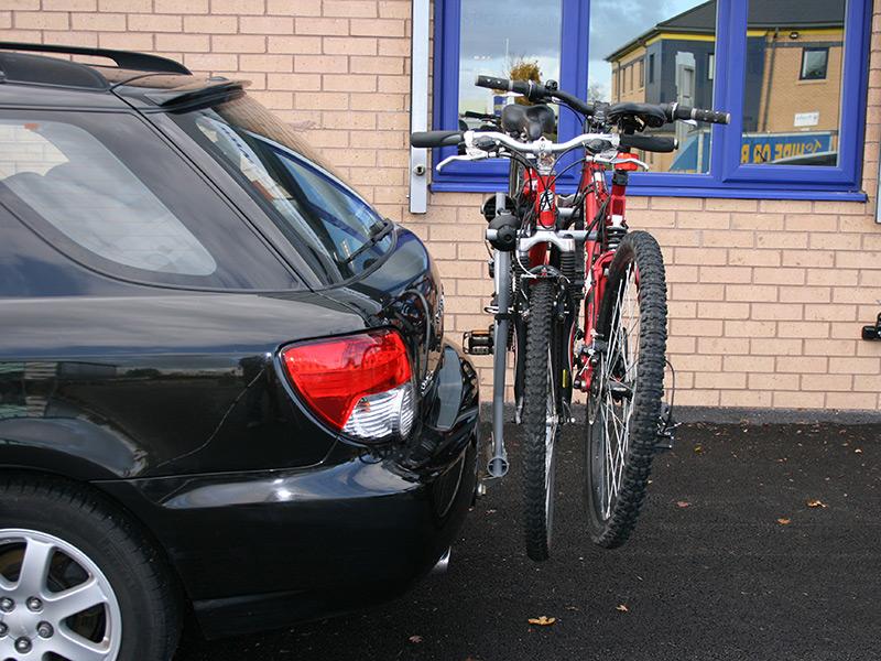 Крепление на фаркоп Thule Xpress для 2-х велосипедов (970) - фото 10