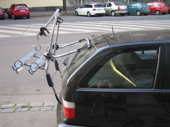 Крепление на заднюю дверь Thule ClipOn High для 2-х велосипедов 9106 Thule ClipOn High 9106 - фото 10