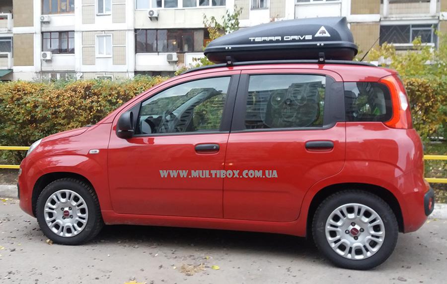 Terra Drive 320 на Fiat Panda