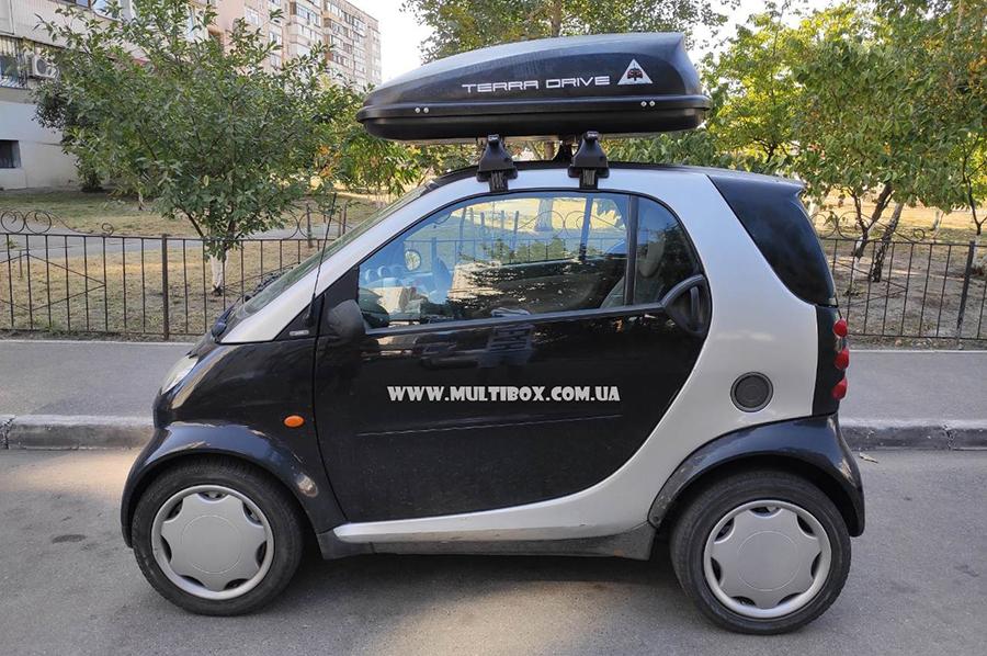 Terra Drive 320 на Smart ForTwo
