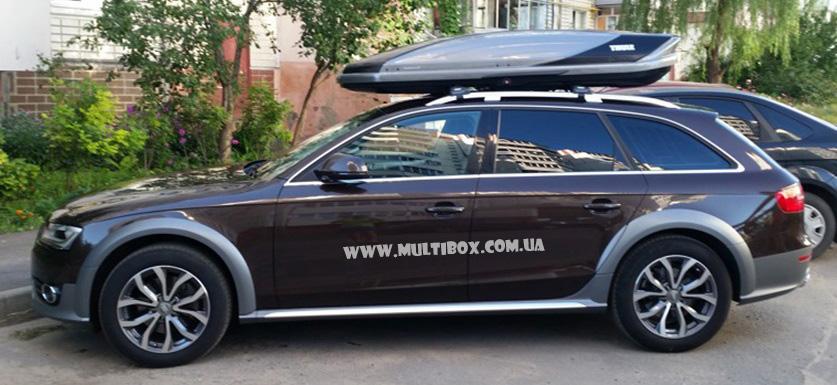 Thule Excellence XT black-titan Audi A6 Allroad Quattro