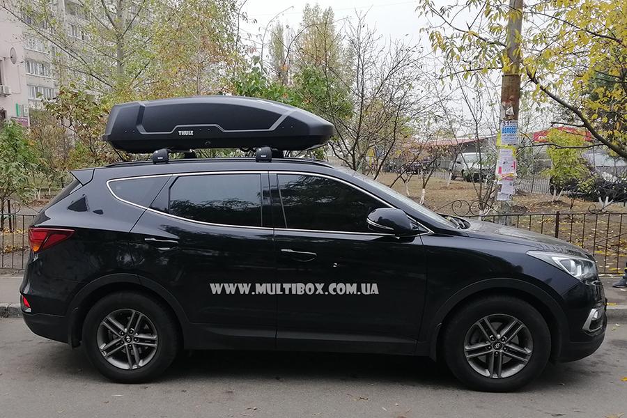 Hyundai Santa Fe Thule Force XT L