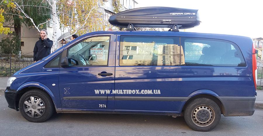 Terra Drive 480 DS Black на авто Mercedes Benz W639 Vito / Viano