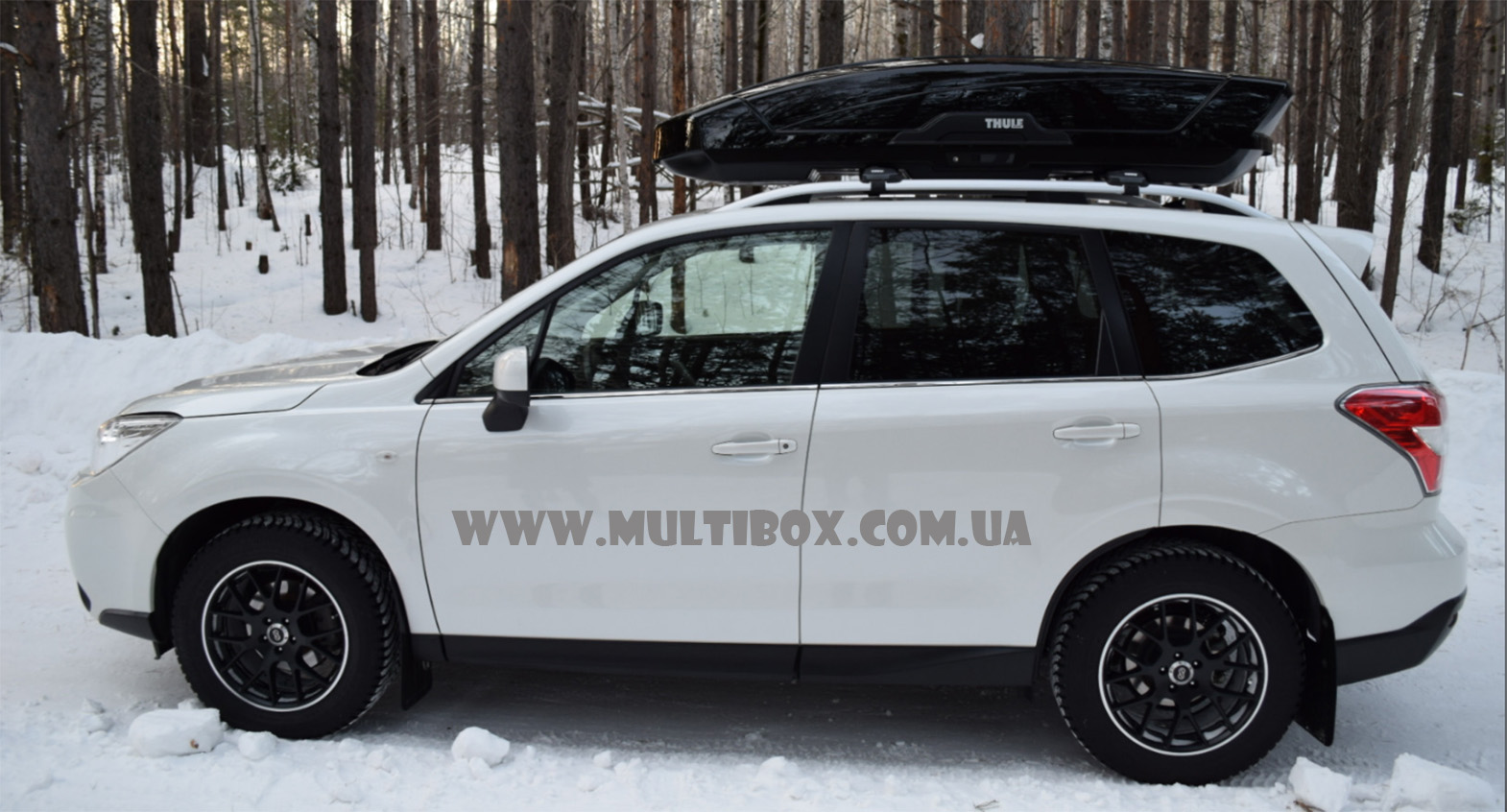 Thule Motion XT XL black Subaru Forester