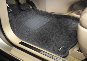 Коврики салона 3D Lux Mat PP для, LAND ROVER-Range Rover Vogue SE, 10->, (grey)