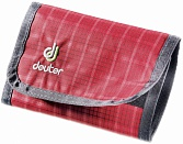 Кошелек Deuter Wallet raspberry check (5003)
