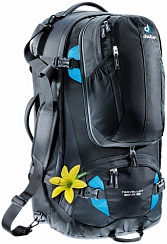 Сумка Deuter Traveller 60 + 10 SL black-turquoise (7321)