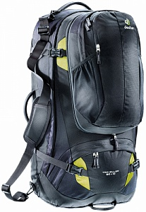 Сумка Deuter Traveller 80 + 10 black-moss (7260)